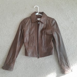 Alice Temperley for Target Brown Leather Jacket