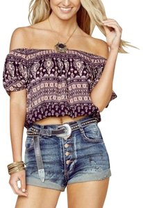 Spell & the Gypsy Collective Top Purple and Pink