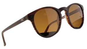 O'Neill MOON-103P-49 Round Unisex Brown Frame Brown Lens Polarized Sunglasses