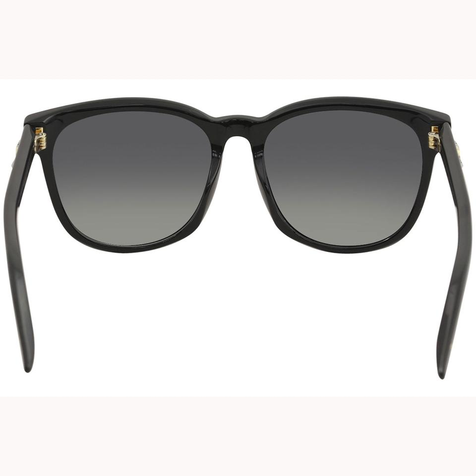 aab08e31bb Gucci New Authentic GUCCI GG0232SK 001 Black Grey Gradient Lens sunglasses  Image 3. 1234