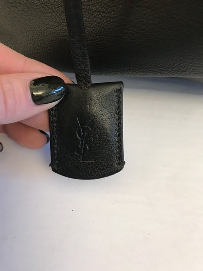 Saint Laurent Ysl Muse Give Gauche Tote in Black