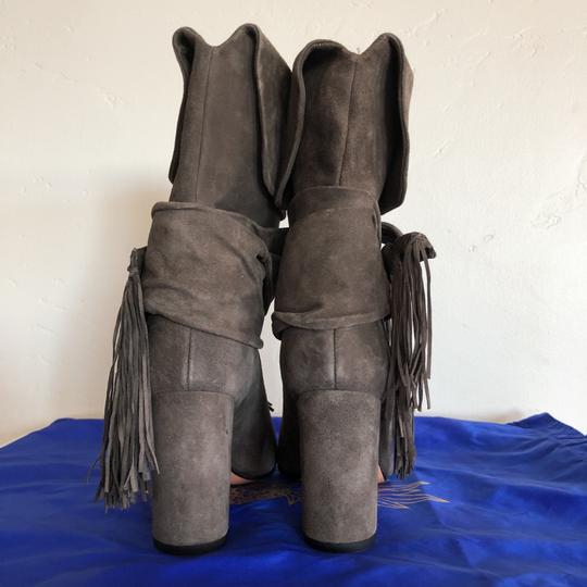 Aquazzura Grey Boots