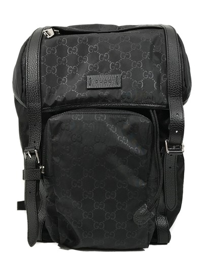 Preload https://img-static.tradesy.com/item/24486446/gucci-gg-guccissima-travel-black-nylon-backpack-0-0-540-540.jpg