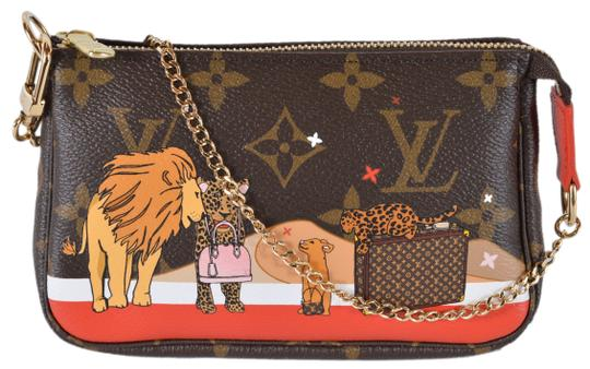 Preload https://img-static.tradesy.com/item/24486464/louis-vuitton-pochette-new-damier-azur-lion-trunk-multicolor-coated-canvas-and-leather-wristlet-0-0-540-540.jpg