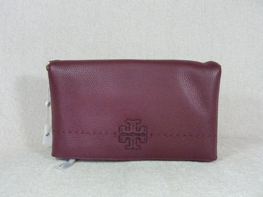 Tory Burch Imperial Garnet Clutch