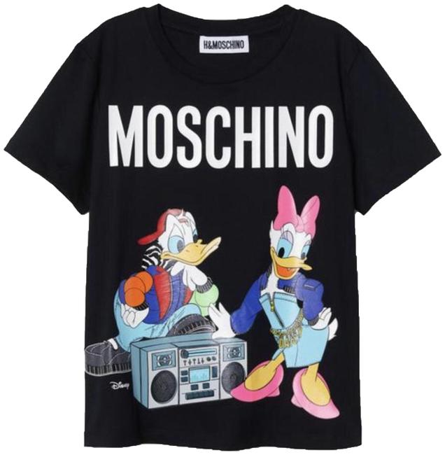 Preload https://img-static.tradesy.com/item/24486492/moschino-tv-h-and-m-black-h-and-am-tee-shirt-size-2-xs-0-2-650-650.jpg