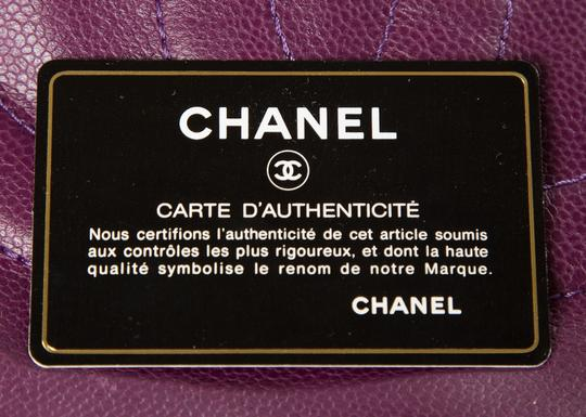Chanel Tote in Purple