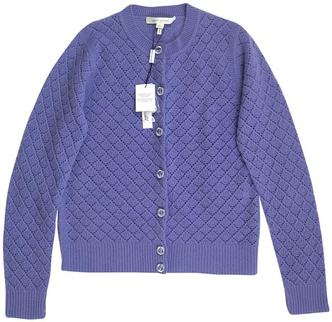 Preload https://img-static.tradesy.com/item/24486504/marc-jacobs-purple-cashmere-crystal-button-long-sleeve-m4007113-cardigan-size-4-s-0-1-650-650.jpg