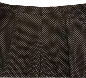Old Navy Straight Pants Black with white pattern