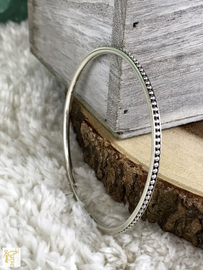 Lagos Lagos 925 Sterling Silver Caviar Signature Bangle Bracelet SALE!