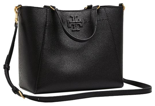 Preload https://img-static.tradesy.com/item/24486595/tory-burch-mcgraw-small-carryall-black-leather-tote-0-1-540-540.jpg