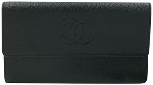 Chanel Chanel Classic Flap Wallet Caviar Leather