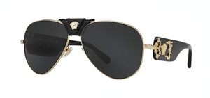 Versace Large Oversized Aviator VE 2150Q 1002/87 - FREE 3 DAY SHIPPING