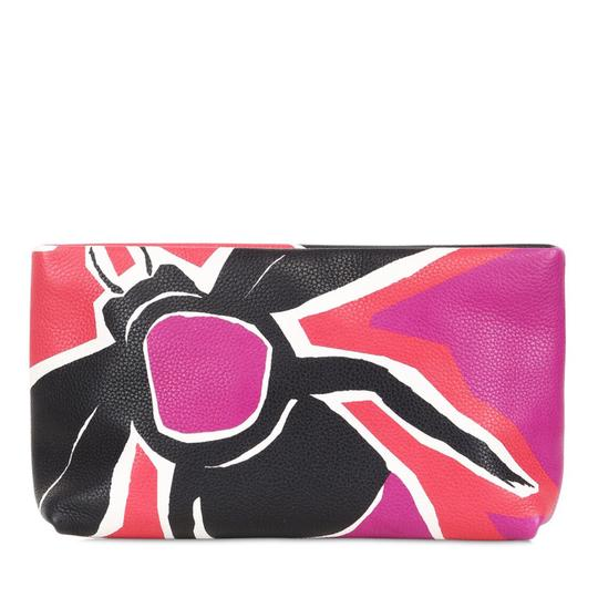 Burberry Prorsum Burberry Prorsum Women's Red Bee Painted Leather Clutch