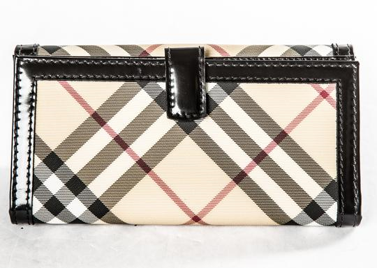 Burberry Burberry Tan and Black Wallet