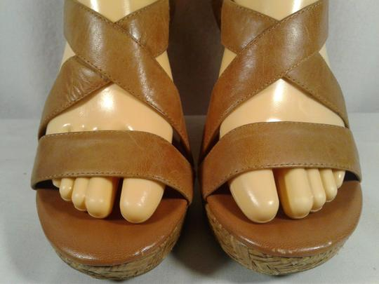 Jessica Simpson Leather Jerrimo Brown Sandals