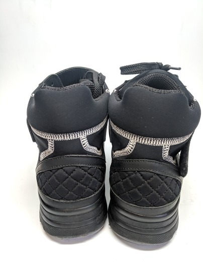 Chanel Sneakers High Top Cc Black Athletic
