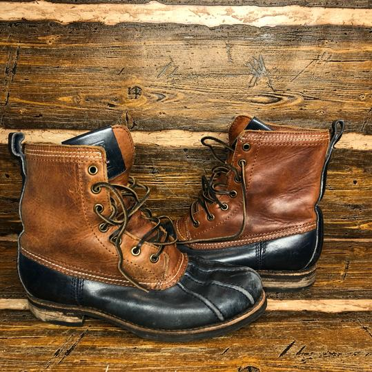 Frye Brown/black Boots