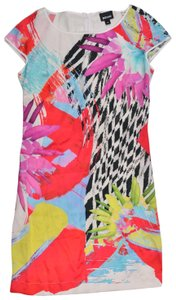 Roberto Cavalli short dress multicolor on Tradesy