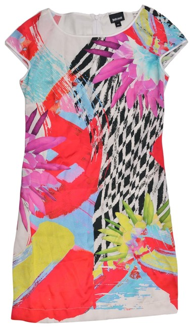 Preload https://img-static.tradesy.com/item/24486760/roberto-cavalli-multicolor-womens-silk-abstract-print-u817-short-casual-dress-size-4-s-0-1-650-650.jpg