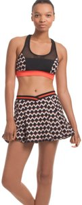 Trina Turk Trina Turk Recreation Chevron Tennis Skirt XS
