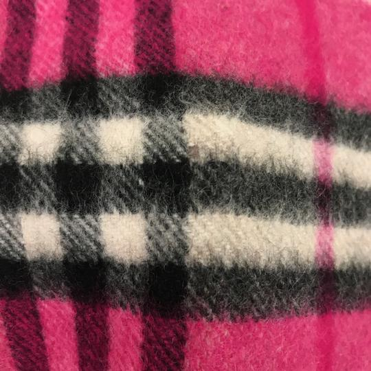 Burberry Burberry London Pink Classic Check Cashmere Scarf