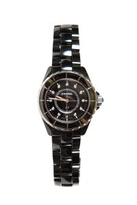 Chanel CHANEL Black Ceramic J12 38 mm Watch