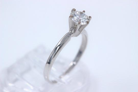 Engagement Ring Diamond Engagement Ring Round 0.70 cts G SI2 14k White Gold