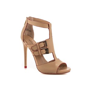Modern Vice Buckles Sexy Nude, Tan, Nuetral Sandals