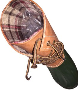 Sperry Green Boots