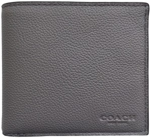 Coach Coach Double Billfold Sport Leather Wallet F75084