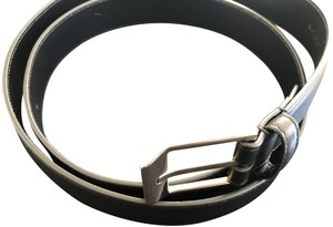 Saint Laurent Mens Classic Leather Belt
