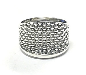 Lagos LAGOS Signature Caviar Beaded Sterling Silver Ring # 03-80293