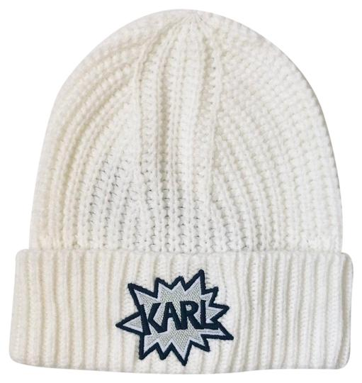 Preload https://img-static.tradesy.com/item/24487625/karl-lagerfeld-white-warm-beanie-hatosnwt-hat-0-1-540-540.jpg