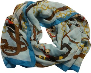 Boutique Moschino New Silk Scarf