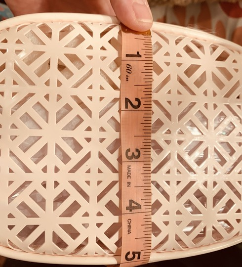 Tory Burch Beautiful Laser-Cut-Out Look Pattern Image 4