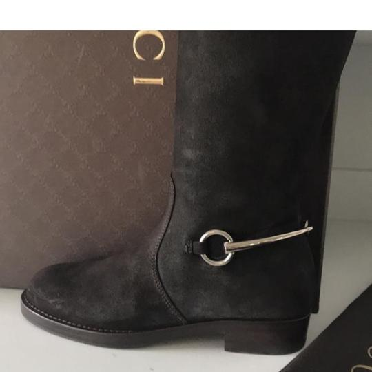 Gucci brown silver Boots Image 1