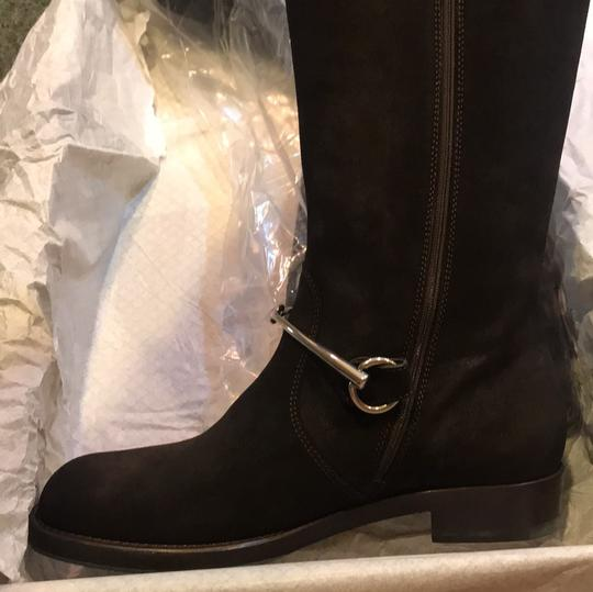 Gucci brown silver Boots Image 3