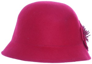 a7a3414534e Nine West Nine West Cloche Hat With Flowers Red