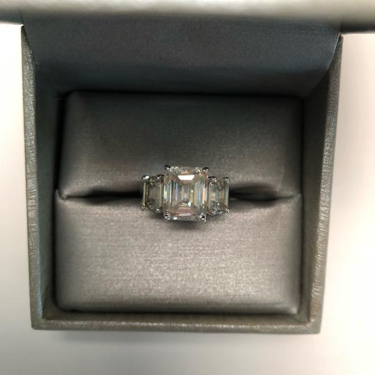 No Brand 6 CT MOISSANITE RING STERLING SILVER SIZE 6 Image 2