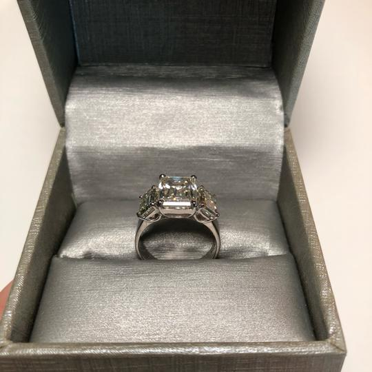 No Brand 6 CT MOISSANITE RING STERLING SILVER SIZE 6 Image 4
