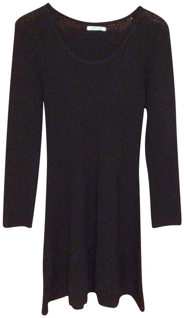Preload https://img-static.tradesy.com/item/24488239/black-sweater-70-and-wool-30-cashmere-mid-length-short-casual-dress-size-12-l-0-1-650-650.jpg