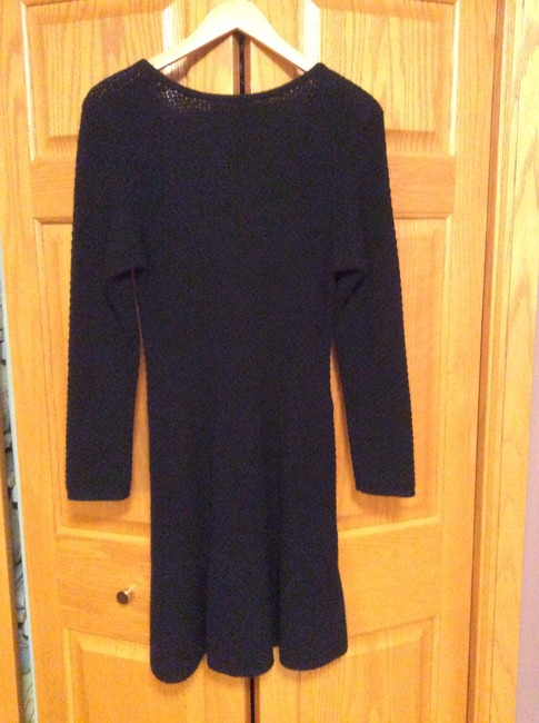 VELVET short dress Black Sweater Wool Cashmere Fitted on Tradesy Image 2