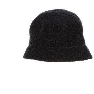 August Hat Company August Hats Chenille Cloche Black