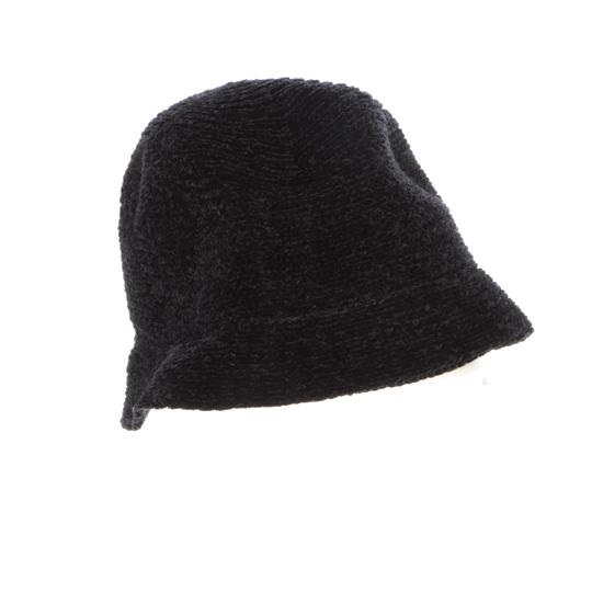 August Hat Company August Hats Chenille Cloche Black Image 1