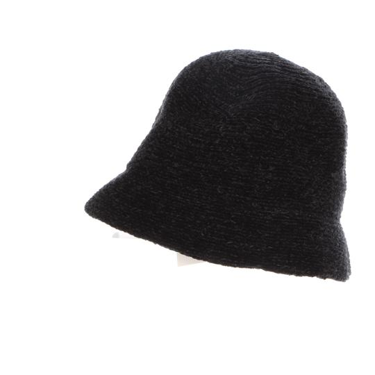 August Hat Company August Hats Chenille Cloche Black Image 2