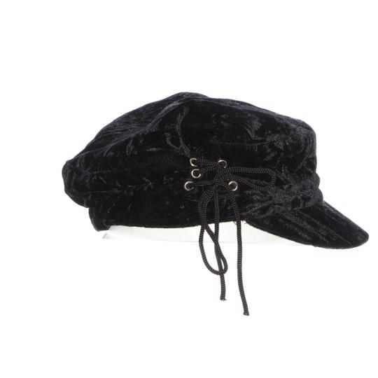 August Hat Company August Hat Company Crushed Velvet Newsboy Image 3