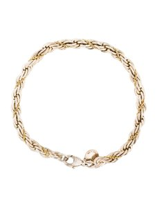 Tiffany & Co. 18K Gold/Sterling Rope
