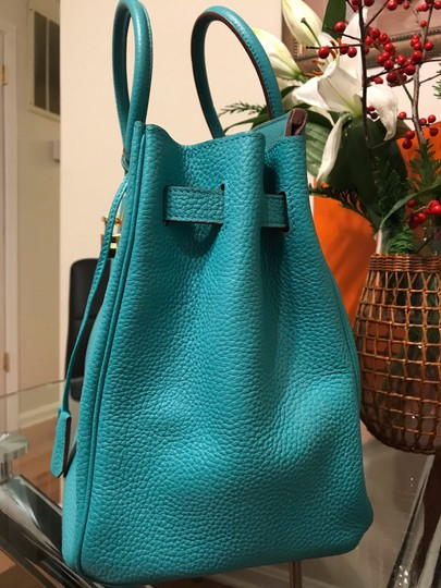 Hermès Satchel in turquoise Image 5
