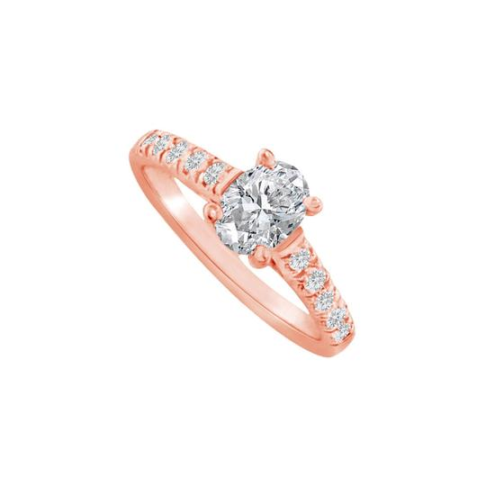 Preload https://img-static.tradesy.com/item/24488392/white-oval-cubic-zirconia-in-14k-rose-gold-vermeil-ring-0-0-540-540.jpg